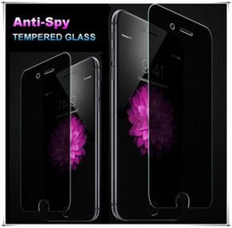 $enCountryForm.capitalKeyWord Canada - 0.26mm Anti-Spy Privacy Protector Real Tempered Glass Screen Protector Shield For iphone 4s 5 6 6 plus Samsung S6 S4 S5 Note 3 100pcs lot