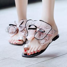 $enCountryForm.capitalKeyWord Australia - PXELENA Cute Sweet Summer Butterfly Womens Girls Casual Flats Toe Ring Beach Flip Flops Sandals Slippers Slides Polka Dot Shoes