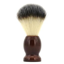 Wholesale Shaving Brush with Nylon Hair Wood Handle Men s Shave Brush Cleaning Hair Brushes Sweeping Brush