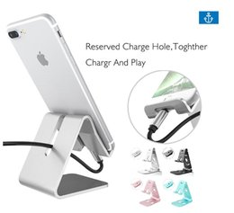 Mobile Phone Holders & Stands Holder Stand For Iphone 8 7 7plus 6s 6 5s 5 Cellphone For Kindle Ebook Aluminum Metal Mobile Phone Tablet Desk 1pc Low Price