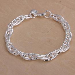 $enCountryForm.capitalKeyWord NZ - Fashion Women Men Jewelry 925 Logo Charm Bracelet 925 Sterling Silver Plated Chain Fake Grapes Bracelet H138
