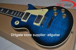 Chinese Custom shop guitars online shopping - Custom shop Blue guitar standard guitars Chinese Guitars