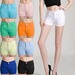 Discount Orange Denim Shorts Women | 2017 Orange Denim Shorts ...