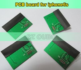 iphone pcb board UK - 2pcs lot Test Tool For iPhone 6s 4.7inch Tester PCB Board Testing Connector Board For LCD Touch Screen Digitizer Display Test