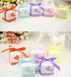 $enCountryForm.capitalKeyWord Canada - 5cm*5cm*5cm Square Wedding Favors Boxes Wedding Candy Box Silk ribbon Wedding Favors And Gifts Event & Party Supplies Free Shipping