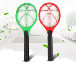 Pest Control Handheld Mosquito Killer Fly Swatter Electric Pest Reject Mosquito Repellent Bug Bat Insect Killer For Camping Home & Garden on Sale