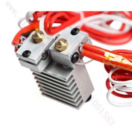 $enCountryForm.capitalKeyWord NZ - Chimera Extruder with Wires - Multi-extrusion E3D V6 Dual Head Extruder, 0.4mm Nozzle, 1.75mm v6 engine