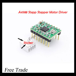 Wholesale Reprap Stepper Driver A4988 Stepper Motor Driver Heat Sink with sticker