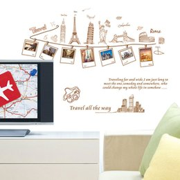 $enCountryForm.capitalKeyWord Canada - PVC Removable Large Wallpaper World Map Wall Sticker Poster Home Decoration Travel Photo Frame Wall Decals Wall Paper Art