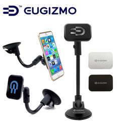 Wholesale EUGIZMO Universal Car Kit Windshield Dash Magnetic Mobile Mount mobile phone holder for Apple iPhone Samsung all smartphones