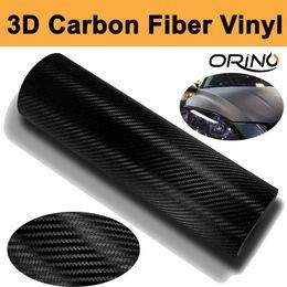 $enCountryForm.capitalKeyWord UK - High Quality 1.52x30m Roll 3D Black Carbon fiber vinyl Wrap Car Wrapping Film Carbon Fibre Sheets With Air Drain Top quality Free shipping