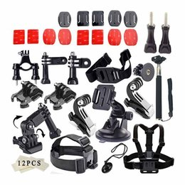 Gopro sjcam kit online shopping - For GoPro Accessories Set for Gopro Hero Sjcam SJ4000 SJ5000 SJ6000 SJ7000 for Xiaomi Yi Action Camera set kit