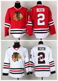 Hockey Team Shirts Canada - 30 Teams-Wholesale 2014 stitched Chicago Blackhawks #2 Duncan Keith Jersey with A patch Ice Hockey Jersey   hockey shirt