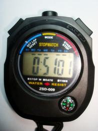 Venta al por mayor de zsd-009 Secondmeter feliz deportes de tabla brújula temporizador multifuncional resistente al agua Correr Cronómetro Deportes Contador Temporizador Digital