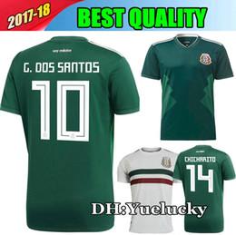 76286c75d1f ... 2017 mexico national team 2018 Mexico Jersey National Team CHICHARITO  GUARDADO HERRERA World Cup G . ...