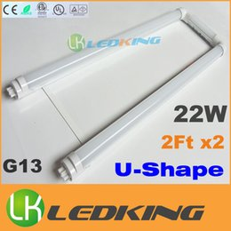 $enCountryForm.capitalKeyWord Canada - U-Shape T8 LED Tube light 22W 2FT X2 LED fluorescent Bulb SMD2835 AC85-265V U Shaped T8 tubes CE FCC ETL SAA UL