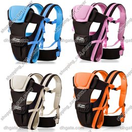 kids backpack carrier Canada - New Arrive Ergonomic Front Back Baby Kid Toddler Infant Children Newborn Carrier Sling Wrap Pouch Hipseat Backpack Safety Comfort Bag Rider
