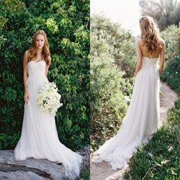Discount Outdoor Beach Wedding Dresses | 2017 Outdoor Beach ...
