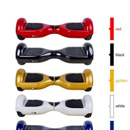 6.5 inch tire 2 rubber wheels self balance hoverboard electric skateboard stand up kick scooter Kick transporter hover board