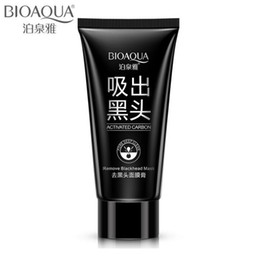 Skin Care Sporting Bioaqua Bamboo Charcoal Black Mask Face Care Deep Cleansing Purifying Blackhead 3 Steps Black Head Remover Acne Nose Mask