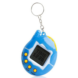 Kids Educational Gifts NZ - New Hot Mixed colors Tamagotchi Toys with button cell Retro Game Virtual Pets electronic toy for kids christmas party gift