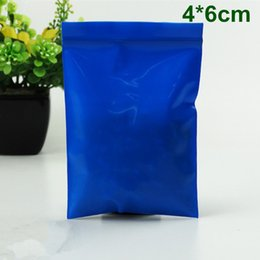 $enCountryForm.capitalKeyWord Canada - Wholesale 2500Pcs Lot 4*6cm Small Blue Thick Plastic Self Seal Ziplock Zip Lock Bag Opaque Packaging Poly Bag Valve Pouch Pack