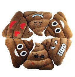 Handmade stuffed toys online shopping - 5 Styles Cushions Cute Emoji Cartoon Pillows Expression Cushion pillow Funny Shits cushions Stuffed Plush Toy