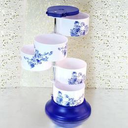 $enCountryForm.capitalKeyWord Canada - Wholesale- Potes De Cozinha New Rotatable Spice Jar Seasoning Box 2017 Hot Sale Bottle For And Rhyme Kitchen Supplies Storage Tank Layers
