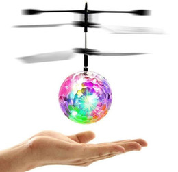 $enCountryForm.capitalKeyWord Canada - Chamsgend Flyings RC Toy EpochAir RC Flying Ball RC Drone Helicopter Ball Built-in Disco Music With Shinning LED Lighting for Kids