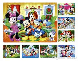 40pcs pack mickey mouse puzzles 8 style for choice minnie mouse characters pattern children education games toys for kids gift h0578a - Mickey Mouse Online Games For Toddlers