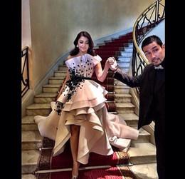 celebrity designer dresses images 2019 - Designer 2019 Hi-Low Prom Dresses Celebrity Dress Floor Length Dresses Party Evening For Women Custom made discount cele