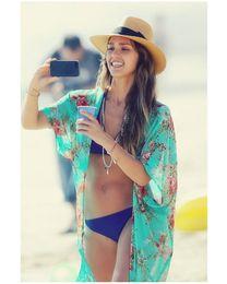 CALIENTE ! Vestido de verano para cubrir la moda de dama, traje de baño de gran calidad para cubrirse, ropa de baño con borla, ropa de playa de kimono kimono en venta