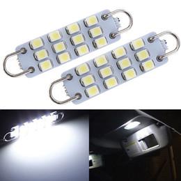 Rigid loop light bulb online shopping - Overvalue mm LED SMD Rigid Loop Pure White Car Auto Interior Festoon Dome Map Lights Bulb Lamp DC12V order lt no track