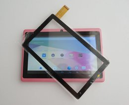 """$enCountryForm.capitalKeyWord Canada - OEM Front Touch Screen Glass Digitizer Replacement For Q88 Allwinner A13 A23 A33 A31S A64 7"""" Tablet PC"""
