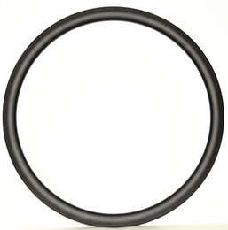 China Free shipping Carbon Single Rim 700C 38mm Depth 23mm Width Light Weight Carbon wheel Clincher tiubular Road Bike Rim 3k UD weave suppliers