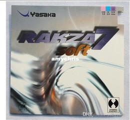 Großhandel DIE BEST-2pcs Tischtennis-Gummi YASAKA RAKZA 7 soft