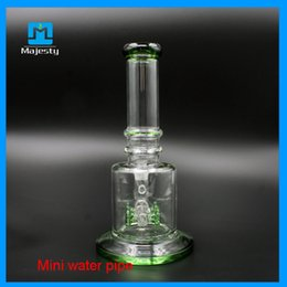 Best Price Bong Pipes NZ - Best Price Hookah Water Recycler Water Pipe Two Function With Oil Rig Herb Bowl Pure Glass Bongs