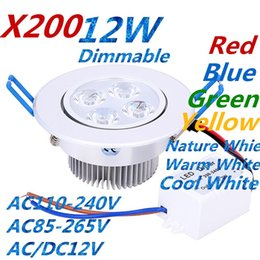 $enCountryForm.capitalKeyWord Australia - Downlights 9W 12W 15W AC85V-265V LED Ceiling Downlight Recessed LED Wall lamp Spot light With LED Driver For Home Lighting