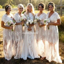 Discount Short White Hippie Wedding Dress | 2017 Short White ...