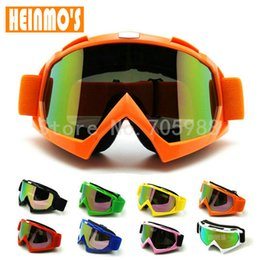atv goggles blue NZ - Brand new Anti-UV KTM Kawasaki Motocross Goggles MX ATV Downhill Dirt Bike Off-Road Glasses Anti fog Motorcycle Eyewear