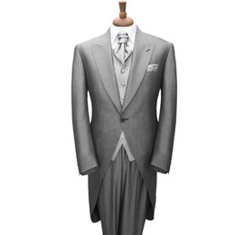 $enCountryForm.capitalKeyWord UK - Men's Tuxedos for men Wedding Suits Groom Tailcoat Custom Made Bridal Dress Suits (coat + trousers) made to order