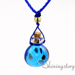 $enCountryForm.capitalKeyWord Canada - perfume sample vials murano glass aromatherapy pendants vintage perfume bottle necklace diffusers necklace for essential oils
