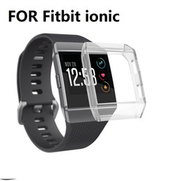 $enCountryForm.capitalKeyWord Canada - Replacement SOFT TPU Protect Case Cover For Fitbit Ionic Smart Watches 20PCS LOT