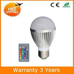 $enCountryForm.capitalKeyWord NZ - E27 5W Remote LED Bulb RGB Color Change Spot Light 70PCS 3 Years Warranty CE RoHS Free Shipping