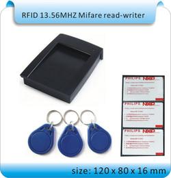 $enCountryForm.capitalKeyWord Canada - Free shipping ISO14443A&B USB 13.56MHz RFID Reader Writer + English SDK +30 IC Card Keyfob +1 NFC Tag