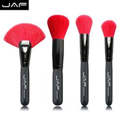 $enCountryForm.capitalKeyWord Australia - Jaf Premium Goat Hair Face Makeup Brush Set Blush Make Up Brushes Tools Kit Cosmetic Brush Kabuki Brush Set