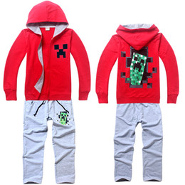 $enCountryForm.capitalKeyWord Canada - 2015 New Children Clothing Sets Boys Sport Zipper Suit Boy Girls Sets Tops + Pants 2PCS 100% Cotton Kids Clothes Baby Clothing