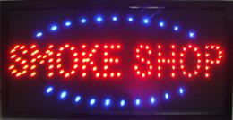 venda por atacado Venda quente personalizado levou loja de fumaça assina luzes de néon de Plástico PVC frame Display semi-ao ar livre tamanho 48 cm * 25 cm