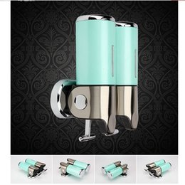 $enCountryForm.capitalKeyWord Canada - Free shipping Wholesale And Retail Promotion Bathroom Kitchen Wall Mount Touch Soap Box Liquid Shampoo Bottle Soap Dispenser Green Color