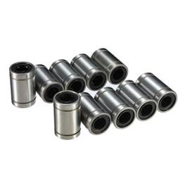 Toptan satış Yeni Varış 10 adet / grup LM8UU 8mm Lineer Bilyeli Burçların Rulman Bush Burç Karbon Krom Rulman Çelik sipariş $ 18no track